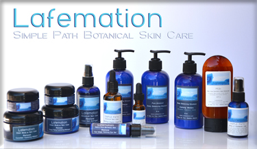 Lafemation Organic Botanical Skin Care Products