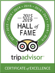 A Spa for You is proud to have been one of the 1st Sedona Spas ever to have been inducted into TripAdvisor's Hall of Fame for its consistent 5 Star Excellence in Client Service - Click for A Spa for You TripAdvisor Reviews